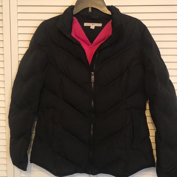 75efe7f1 Tommy Hilfiger Jackets & Coats | Black Down Jacket | Poshmark
